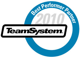 TeamSystem Best Performer Partner 2010